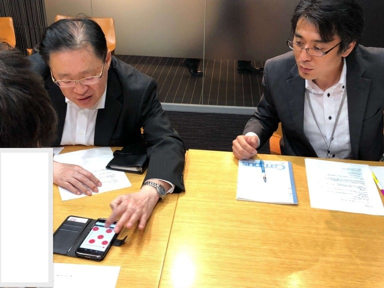 岡三オンライン証券のツールやアプリの利用方法を直接伺いました