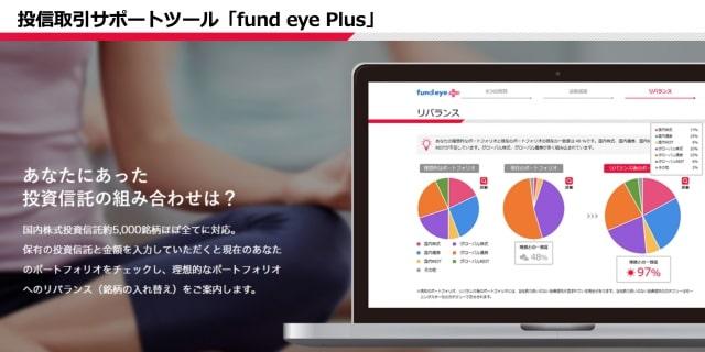 fund eye plus|SMBC日興証券ロボアドバイザー