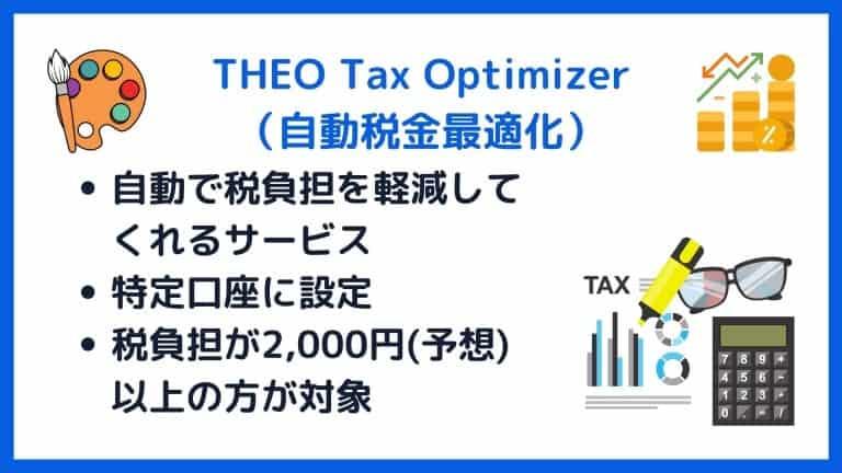 theo tax optimizer(自動税金最適化)