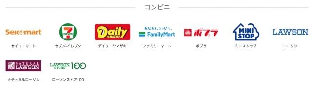 【コンビニ】PayPayの使えるお店