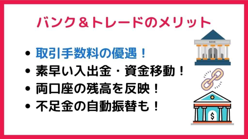 SMBC日興証券・三井住友銀「バンク&トレード」のメリット