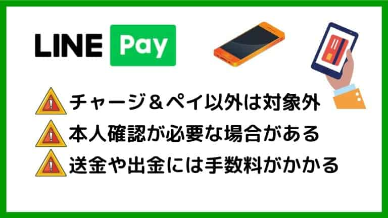 LINE Payの注意点・デメリット