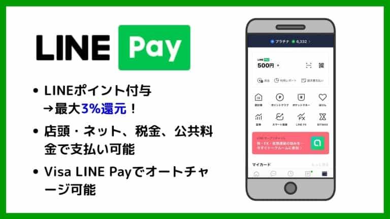 LINE Payの特徴