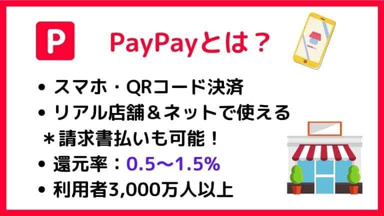 PayPayとは?概要・特徴