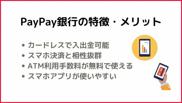 PayPay銀行の特徴・メリット