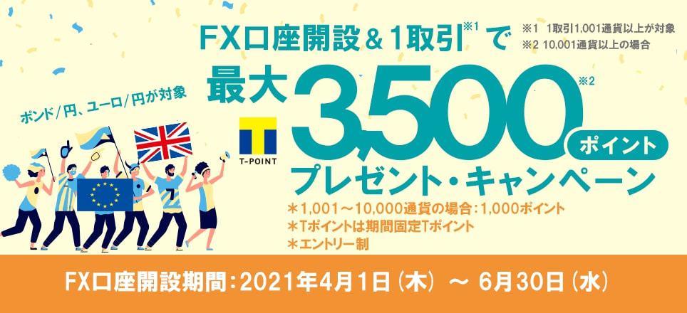 SBIネオモバイル証券FXキャンペーン【2021年6月】