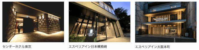 サムティの株主優待(ホテル)